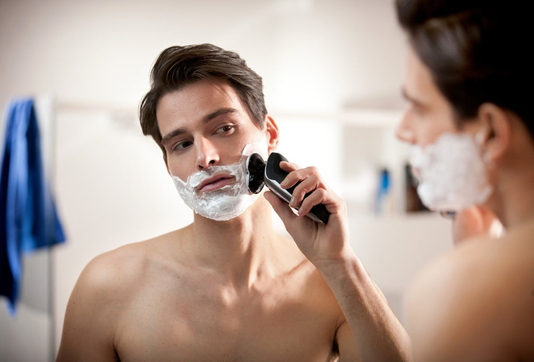 Собственное бритье в ночном видении