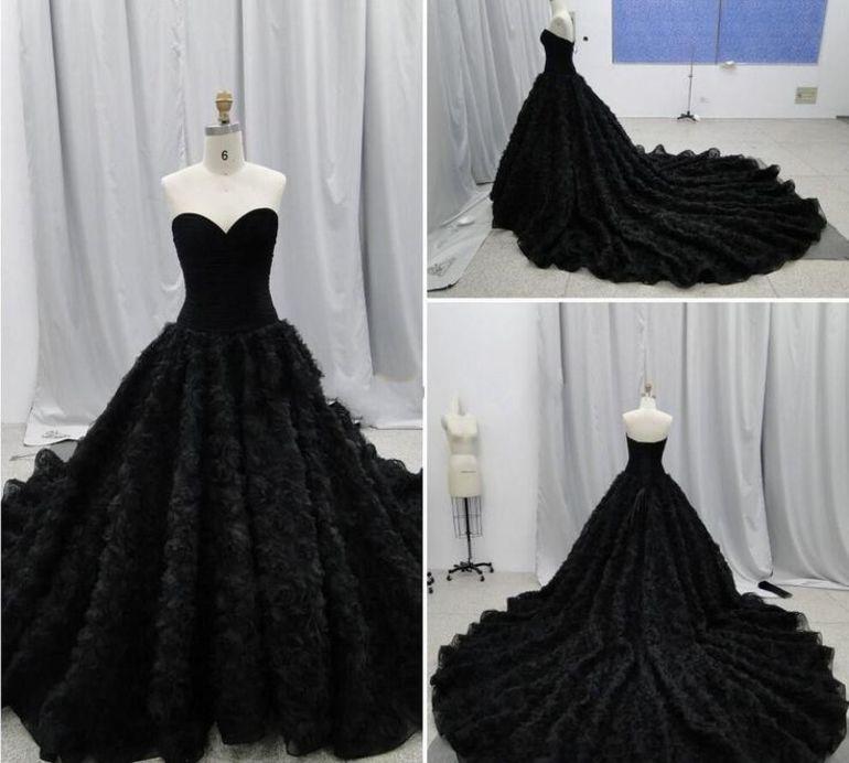 Чёрное платье  во сне