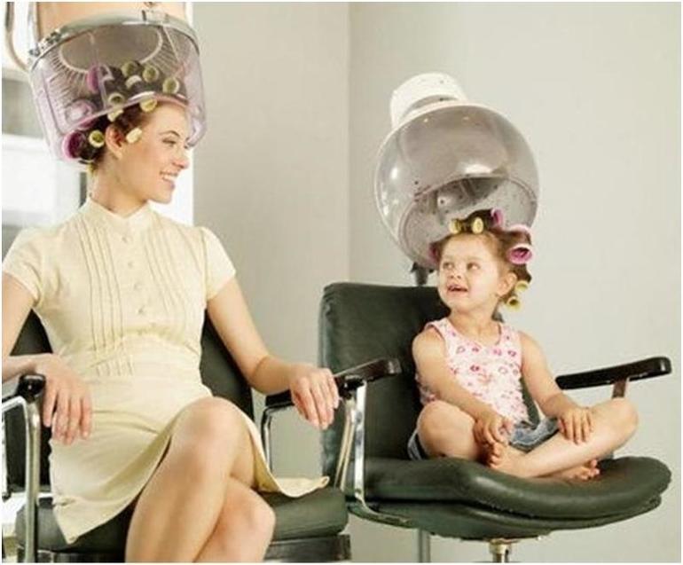 Мама во сне привела дочь в дорогую парикмахерскую,
