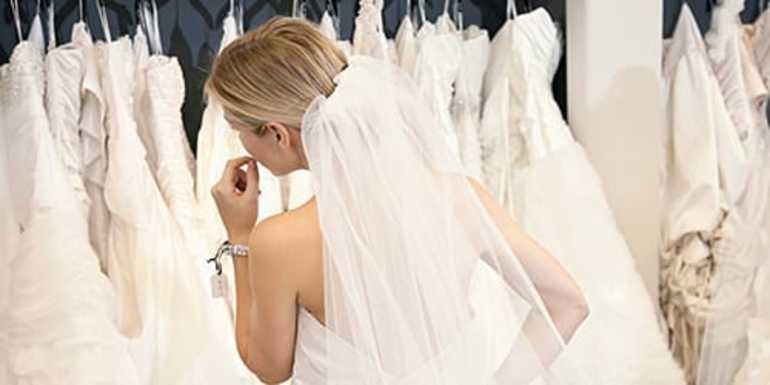 Сонник выбирать свадебное платье