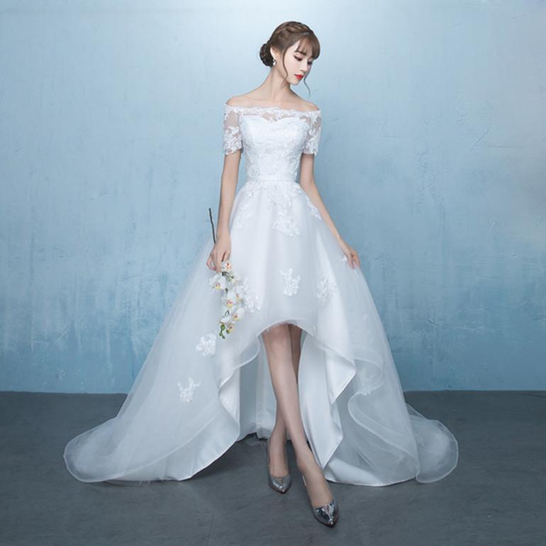 К чему снится короткое свадебное платье