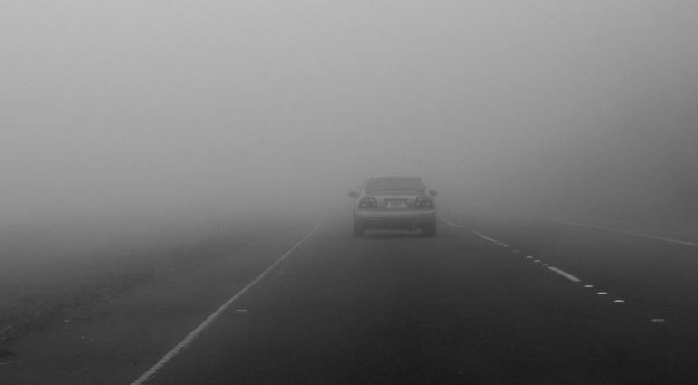 Ехать в тумане во сне