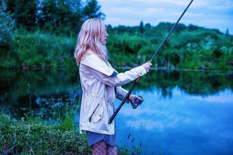 Женщине снится ловля рыбы