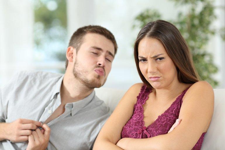 Отвращение от поцелуя