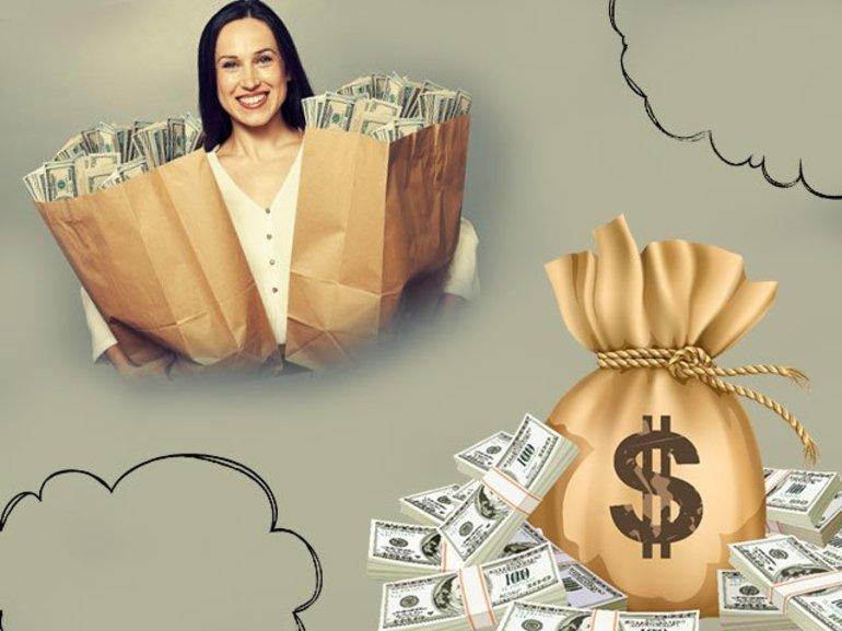 Видеть много денег во сне