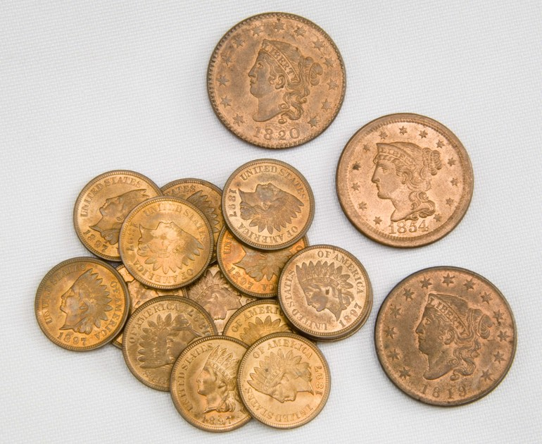 Медные монеты во сне