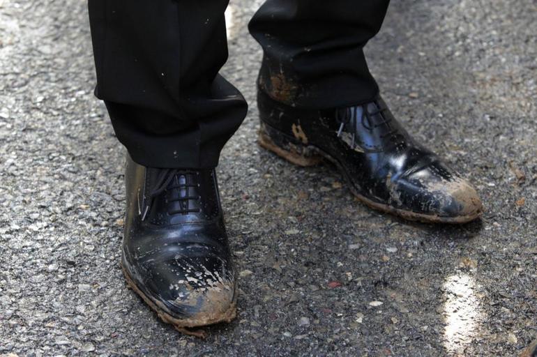 Грязная обув в сновидениях