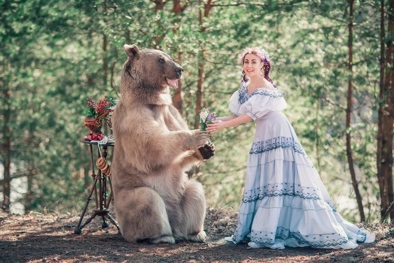 Медведь в сновидении