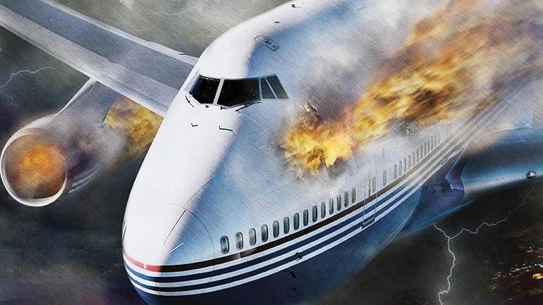 Сонник - крушение самолета