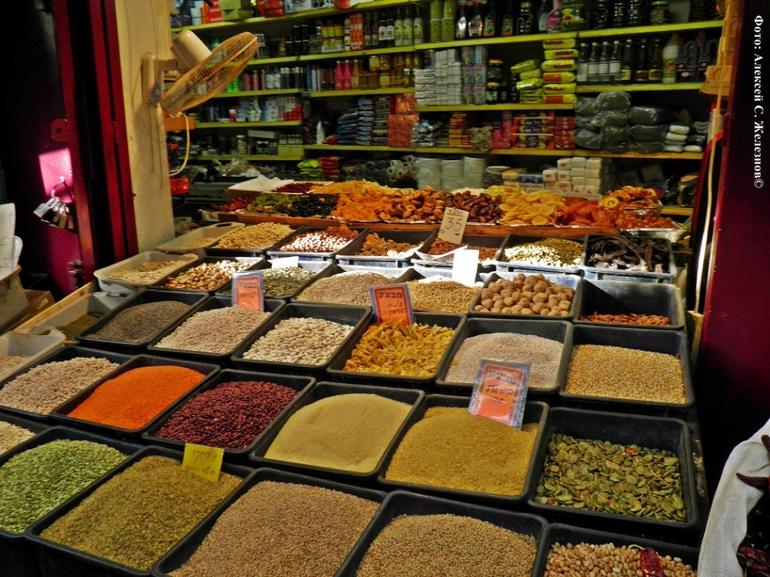 Богатый восточный базар