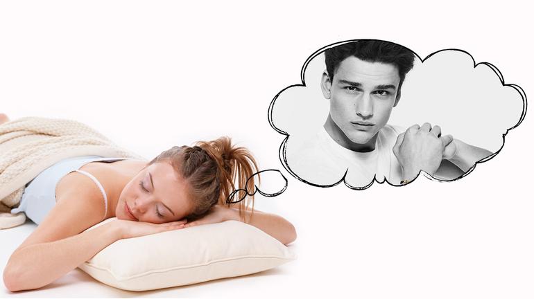 К чему девушке снится парень
