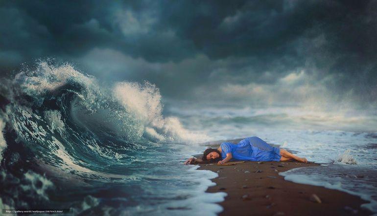 Трактовка сна про волны