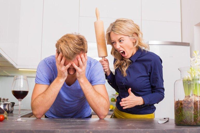 Бить мужа за пьянство