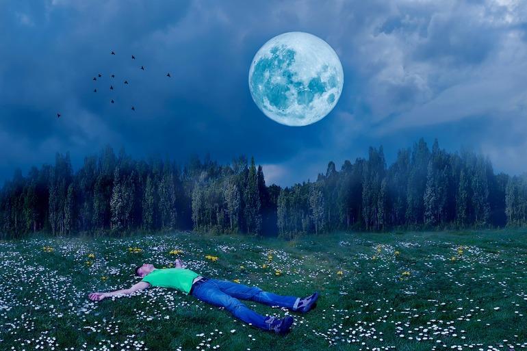 Снится ночное небо