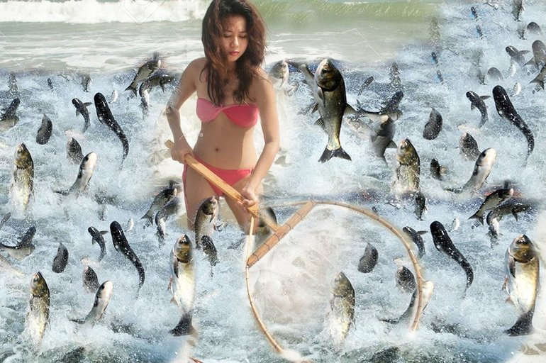 Ловить рыбок во сне