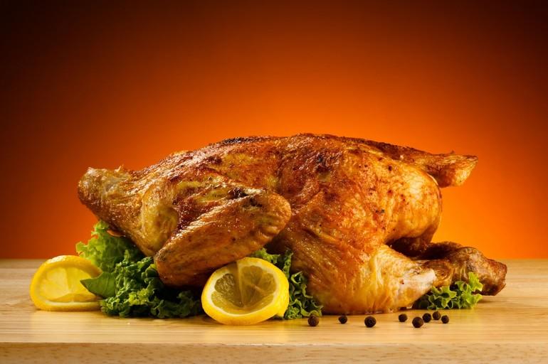 Сон жареная курица