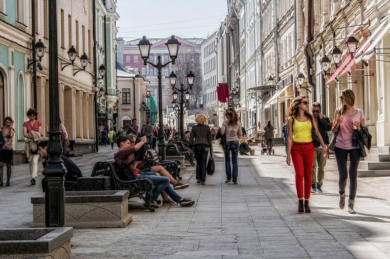 Гулять по крупным городам