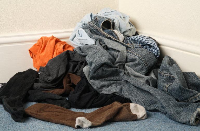 Грязная одежда
