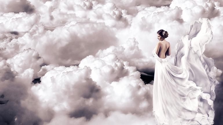 Светлые облака