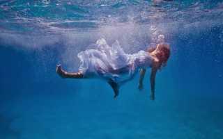 К чему снится тонуть в воде: толкования сонников