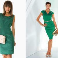 Что означает платье зелёного цвета по соннику