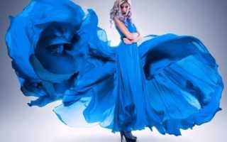 Что означает красивое синее платье по сонникам