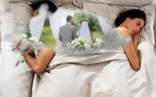 К чему снится свадьба с бывшим мужем: толкование по сонникам