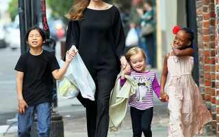 Свобода мысли или анархия: как воспитывает своих детей Анджелина Джоли?