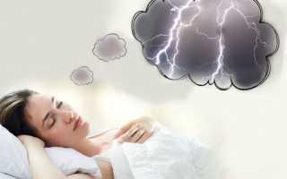 К чему снится молния с громом: толкования сонников