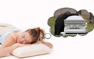 Трактовки по сонникам, к чему снится смерть покойного или живого мужа
