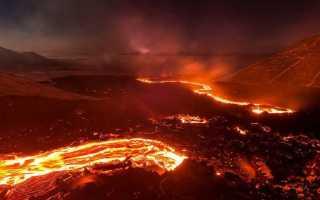 Вулкан по соннику: к чему снится извержение и пылающая лава