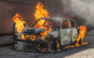 К чему снится своя или чужая горящая машина по соннику