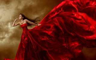 Различные толкования, к чему снится красное свадебное платье