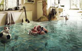К чему снится потоп в своём доме или чужой квартире